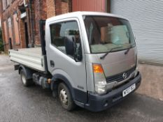 NISSAN CABSTAR 35.13. 2 Axle-Rigid Body Pickup Truck. 3500KG Gross Weight. Year 2007.