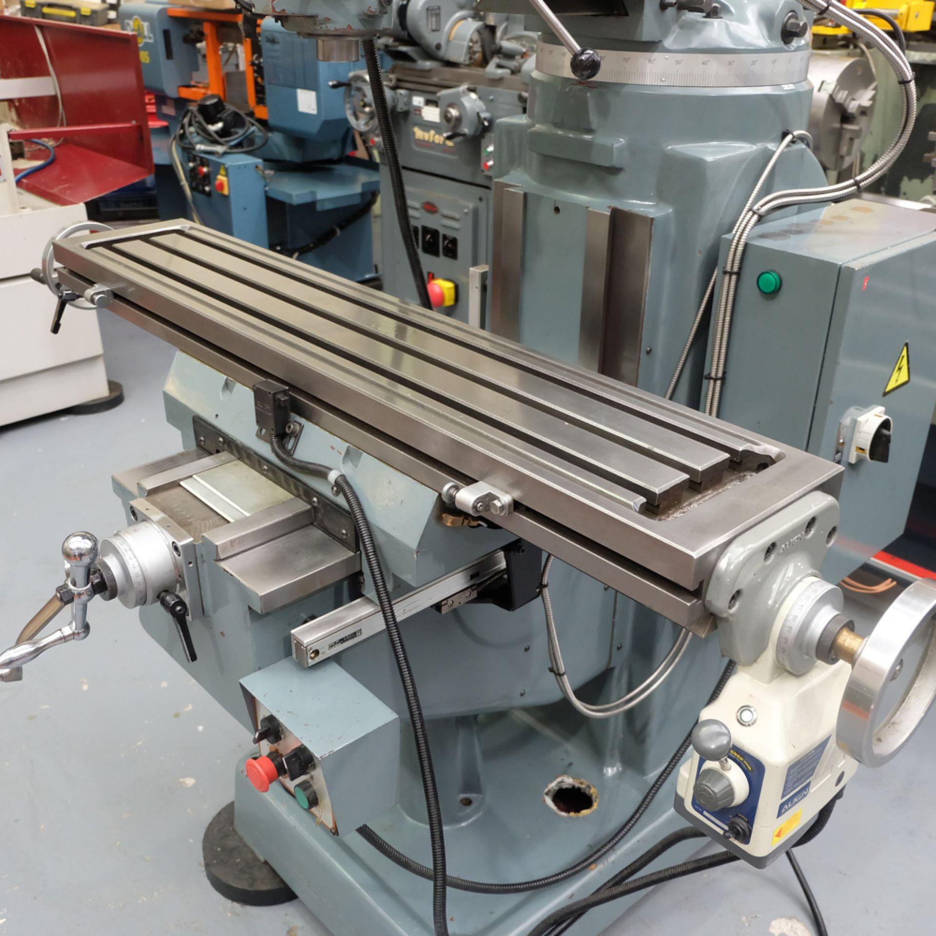 Braithwaite Model 6323B 3HP Vari Speed Turret Mill. - Image 6 of 18