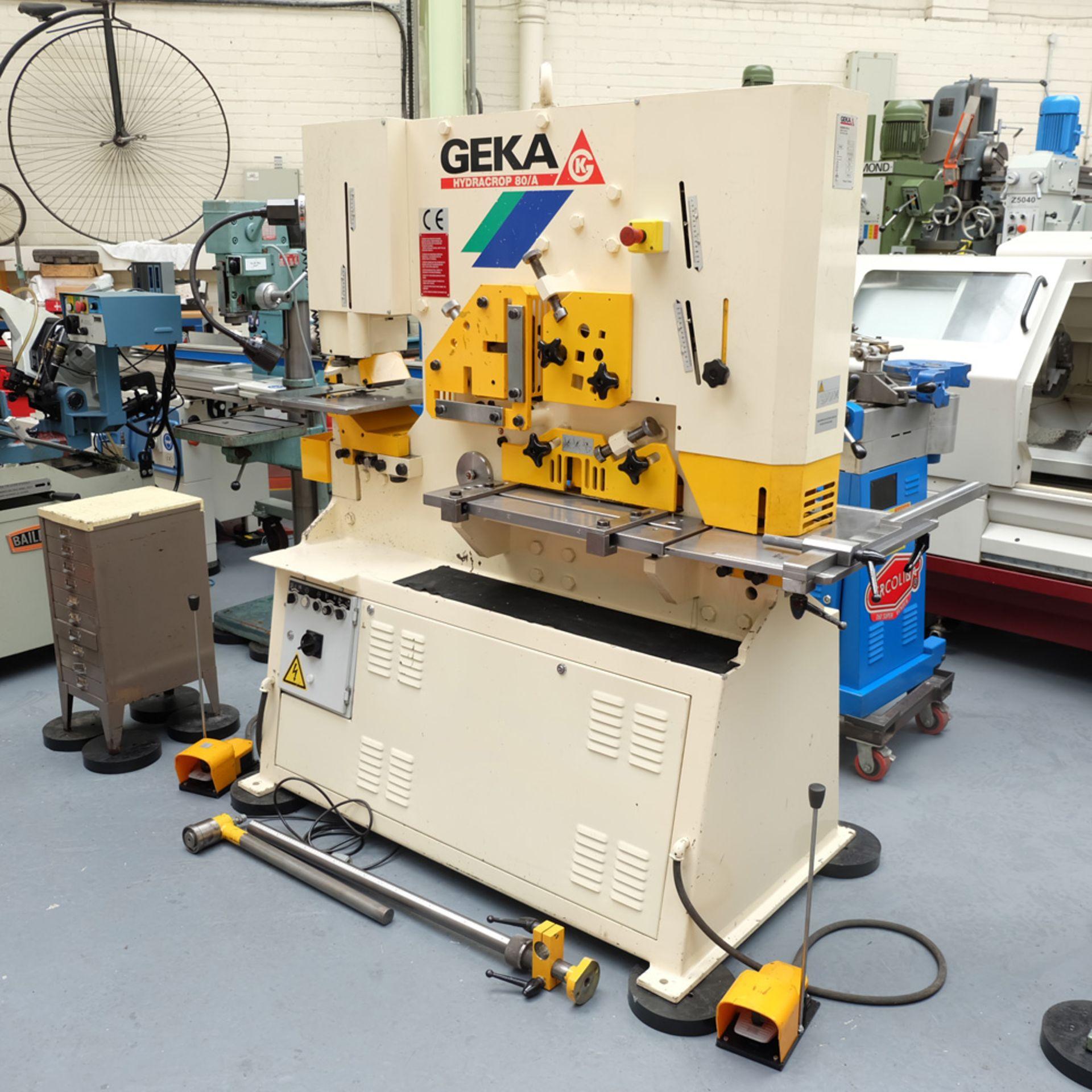 GEKA Model HYD 80/A Universal Steelworker - Image 2 of 21