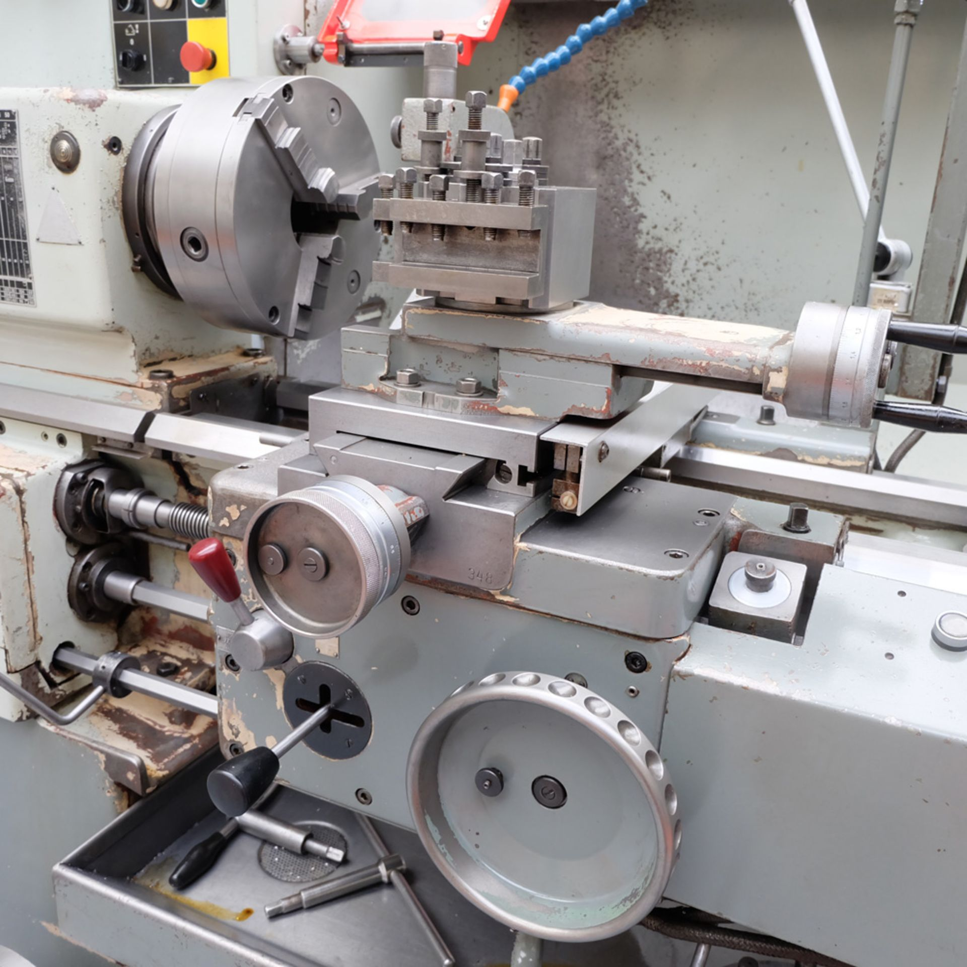 TOS SN 50C Gap Bed Centre Lathe. - Image 7 of 13