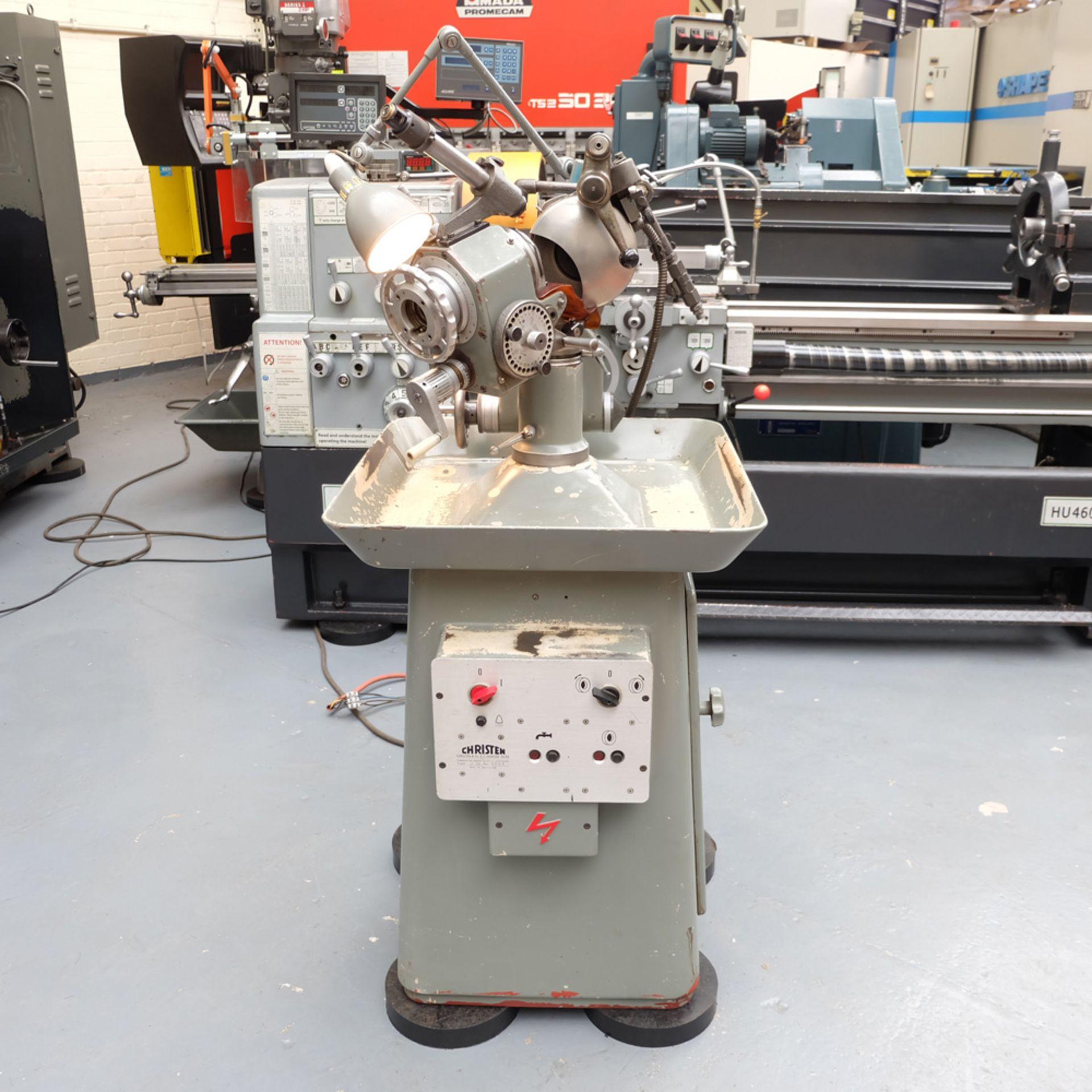 Christen Type 2-32 Twist Drill Grinding Machine. - Image 2 of 14