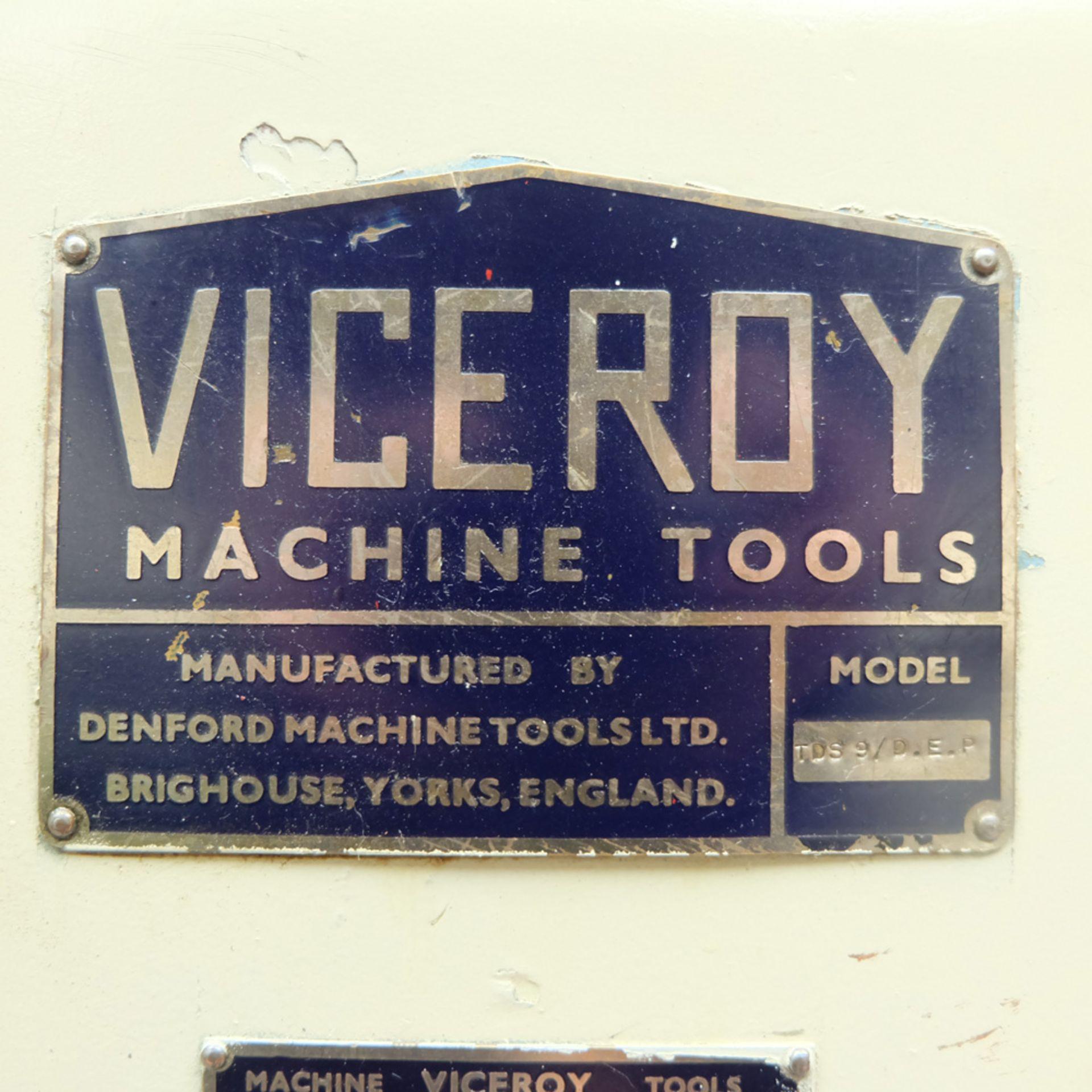 Viceroy Model TDS9 Double Ended Pedestal Polishing Machine. - Image 5 of 6