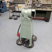 Vickers Pedestal Mounted Single Ended Polishing Machine.
