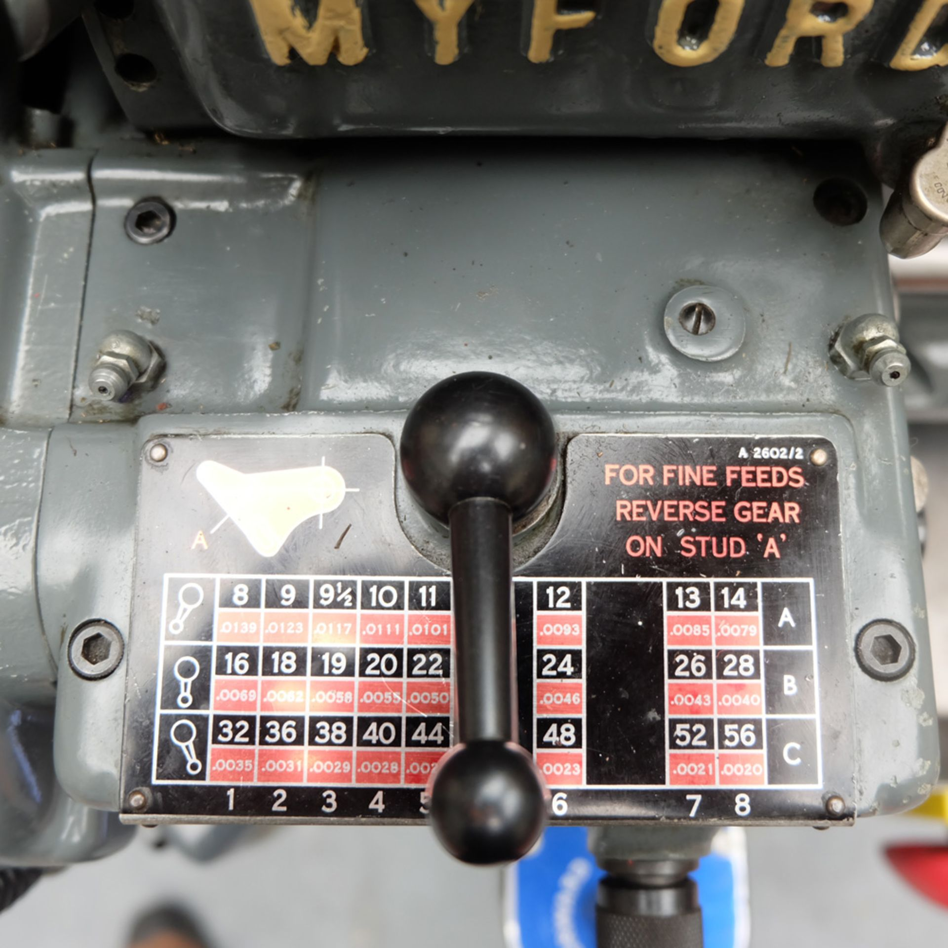 Myford Super 7 Model Makers Centre Lathe. - Image 5 of 17