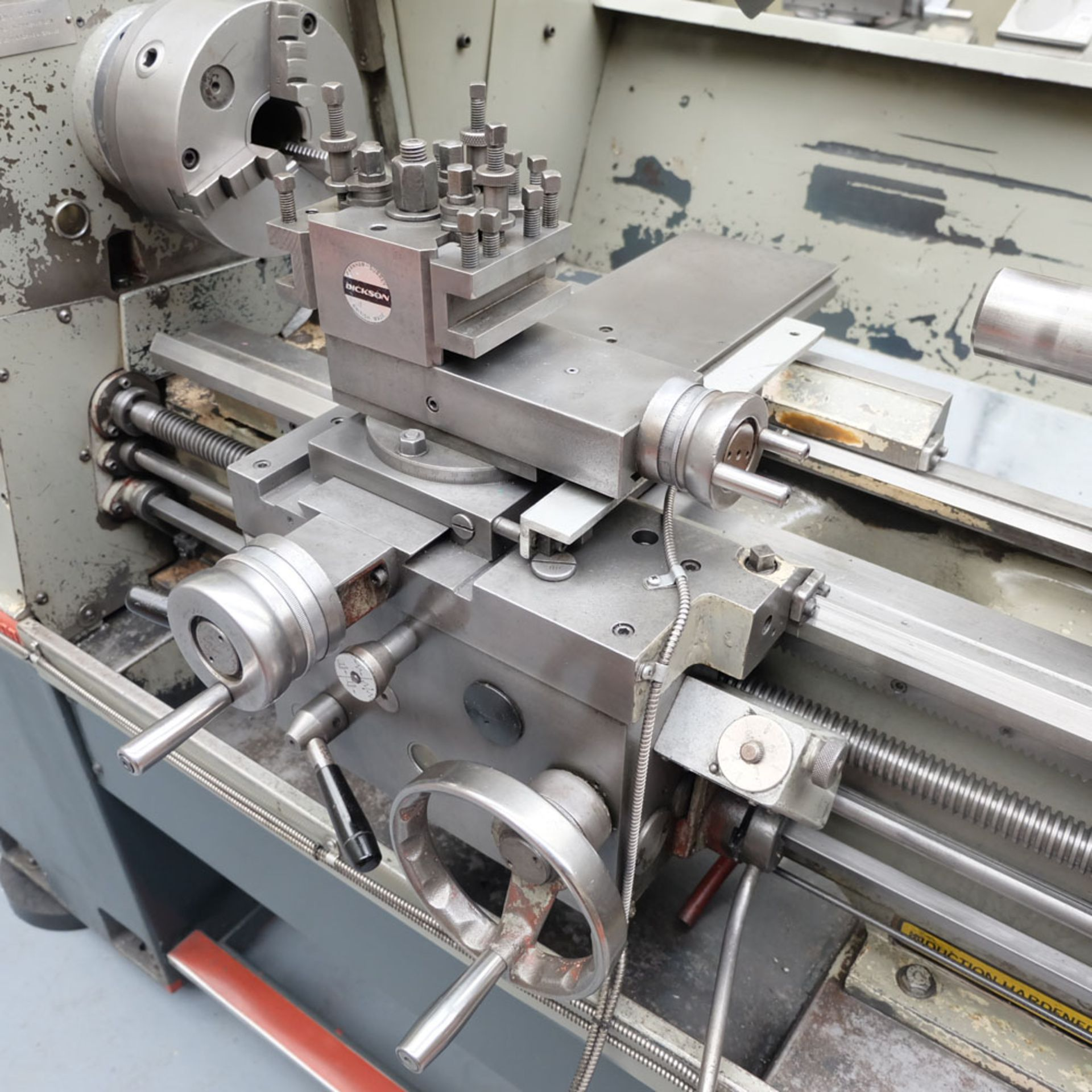 Colchester Student 1800 Gap Bed Centre Lathe. - Image 5 of 8