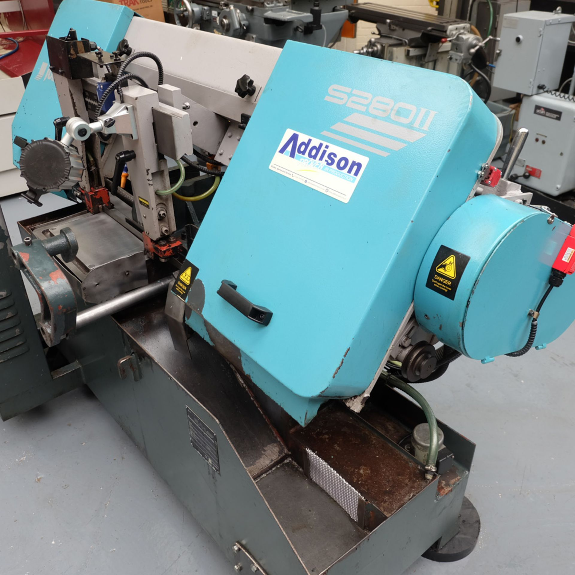 Julihuang By Addison Model S280 MKII Semi-Auto Horizontal Bandsaw. - Image 6 of 9
