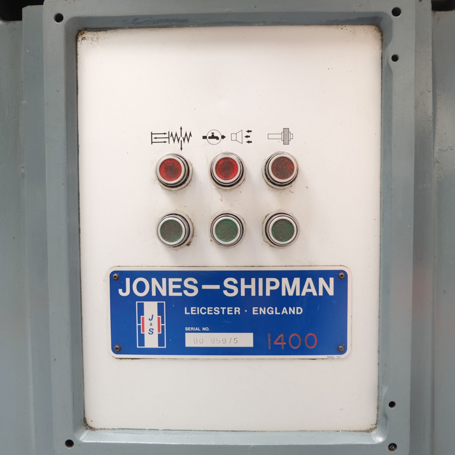 Jones & Shipman 1400P Toolroom Surface Grinder. - Image 6 of 10