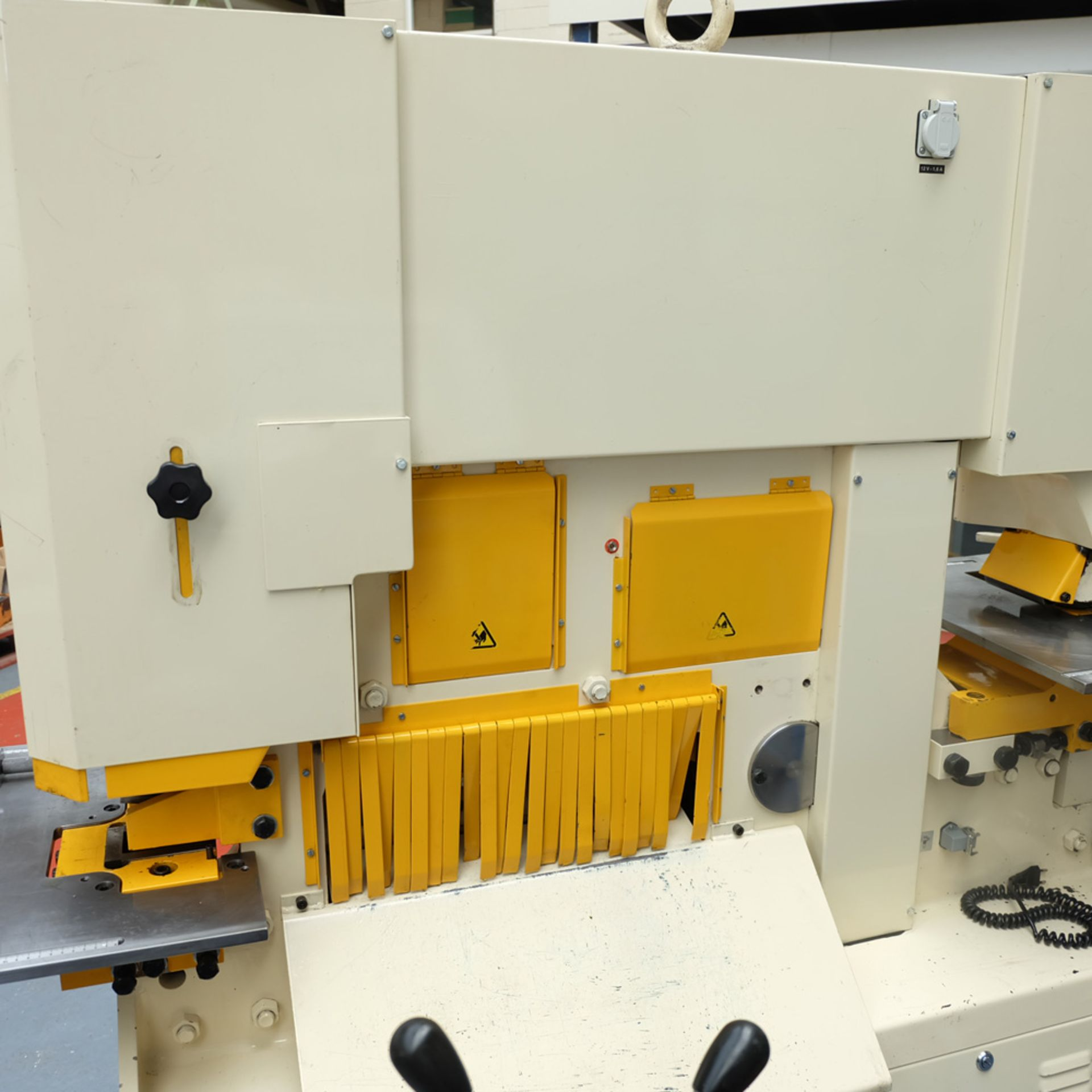 GEKA Model HYD 80/A Universal Steelworker - Image 9 of 21
