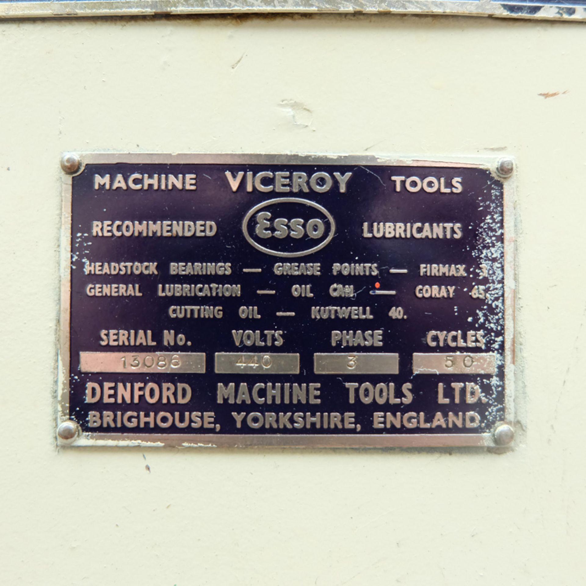 Viceroy Model TDS9 Double Ended Pedestal Polishing Machine. - Image 6 of 6