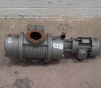 Elmo Rietschle Type VWP 500 Vacuum Pump S/N2320901 Equipped with CSM Electric Motor. The VWP 500