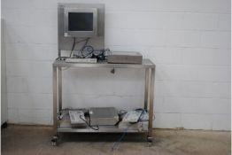 CKS Monitor & Tipro Model: K548 Desktop Industrial Medical Touchpad Model: K548. Complete with