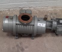 Elmo Rietschle Type VWP 500 Vacuum Pump S/N 2320900 Equipped with CSM Electric Motor. The VWP 500