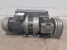Elmo Rietschle Type VCAH 100 Vacuum Pump S/N2325559