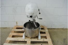 Swallow Enginering Planetary Dough Three speed Electric Mixer With Mixing Bowl & Mixing Attachment