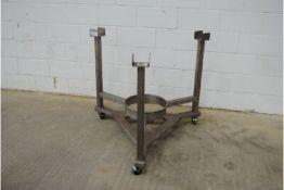 Stainless Steel Frame On Wheels