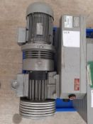 Elmo Rietschle Type VCAH 100: Vacuum Pump S/N: 2325560 Equipped with ATB Type YAF 100L/4H-12