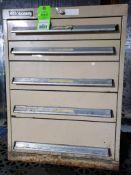 5 drawer Bott Kennedy tool cabinet. 31tall x 23wide x 23deep.