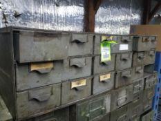 Parts drawer set.