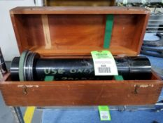 Jones and Lamson optical comparator magnification lense.