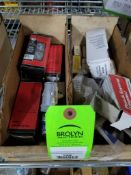 Large assortment of electrical. (2 boxes)