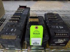 Qty 3 - GE Fanuc PLC control racks.