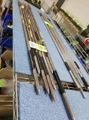 Large qty of inside measurement tools.