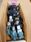 Large assortment of Mac pneumatic valves.