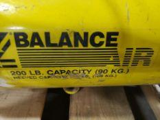 Zimmerman Tool balancer. Z-BalanceAir. 200lb capacity.