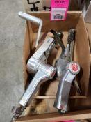 Qty 2 - pneumatic belt sanders.