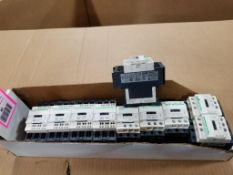 Qty 10 - Schneider Electric contactors.