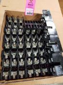 Large assortment of Ferraz Shawmut fuse holders.