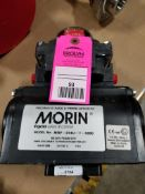 Morin Tyco pneumatic valve actuator. Model MRP-014U-T-S080. Appears to be new old stock.