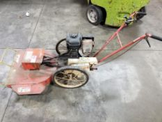 8hp The Whipper mower. Briggs and Stratton gas engine.