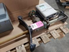 Marsch McBirney valve and controller.