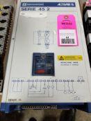 Telemecanique Altivar drive. 7.5hp. Catalog number ATV452U55N.