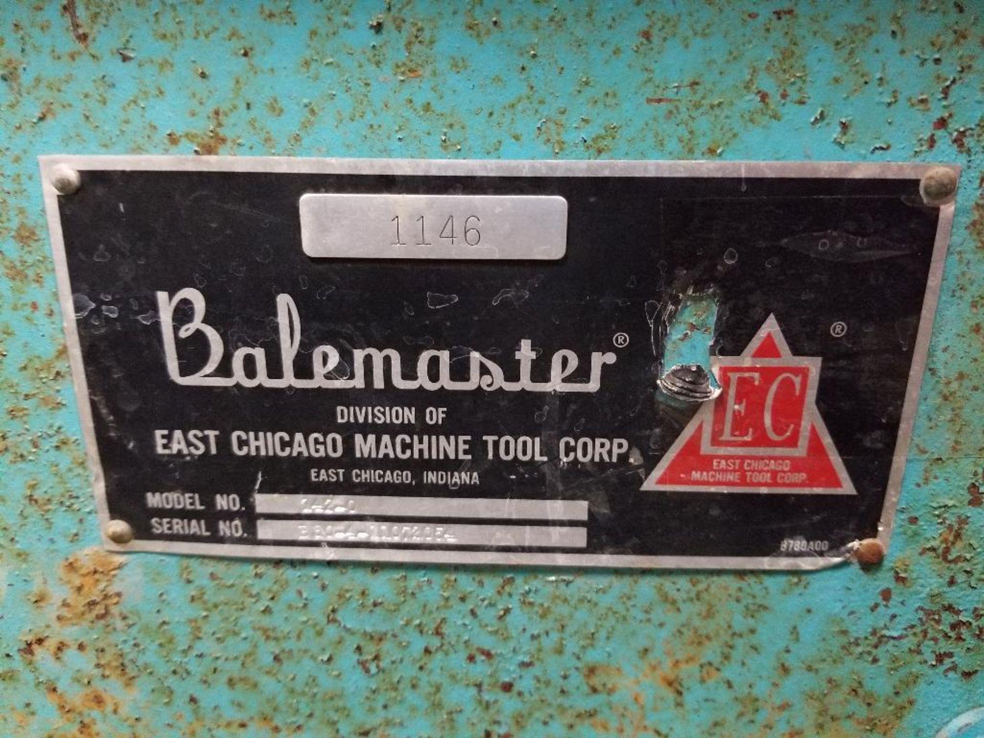 Balemaster baling machine. Model 142-0. - Image 3 of 16