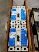 Qty 2 - Westinghouse circuit breakers. Catalog EHD3015L.