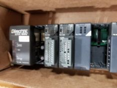 Direct Logic 205 PLC rack system.