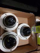 Lot of 3 Bosch Security CameraLot of 3 Bosch Security Camera.VDC-485V03-20 Cam Dome.