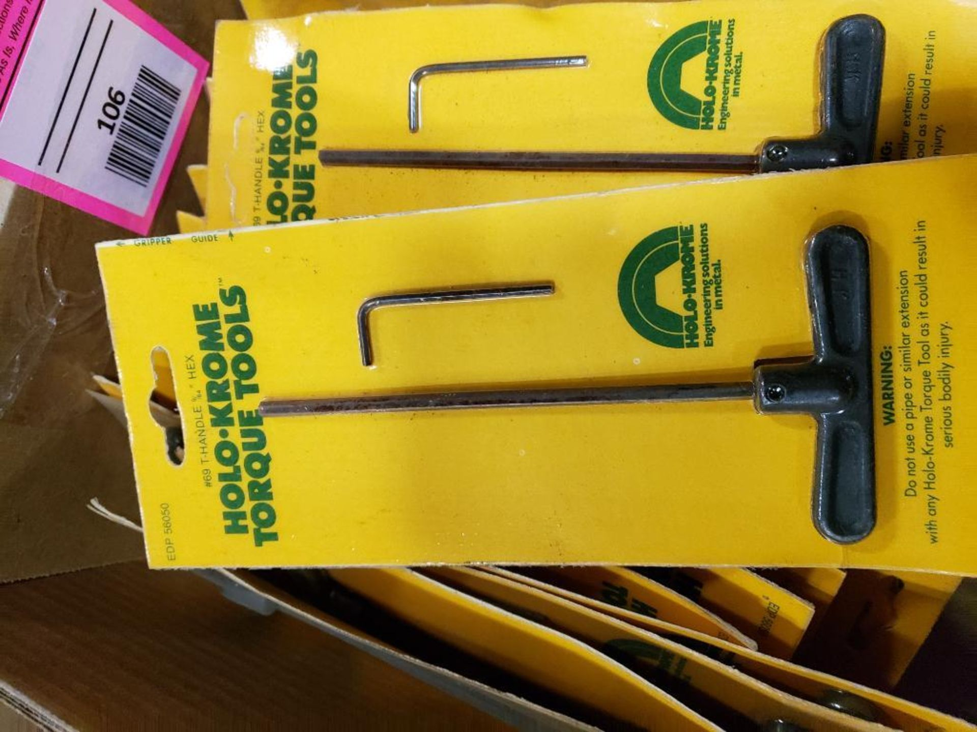 Large Qty of Holo-Krome allen wrenches. New. - Image 3 of 4