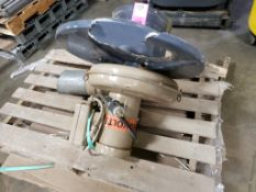 Cincinnati Fan 300S/T37KS. 3HP Reliance Electric P14H1475G. 3PH, 3450RPM, 230/460V.