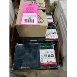 Assorted sanding pads. Festool P120, P180, P150.