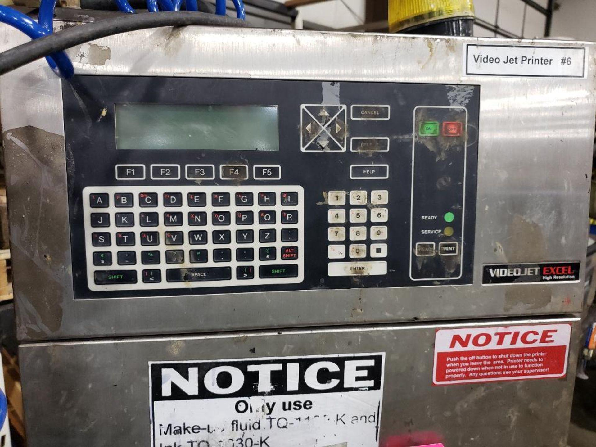 Videojet Excel High Resolution HI-RES ink jet marking machine. - Image 17 of 19