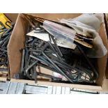 Large Qty of assorted allen wrenches. Holo-Krome and brands.