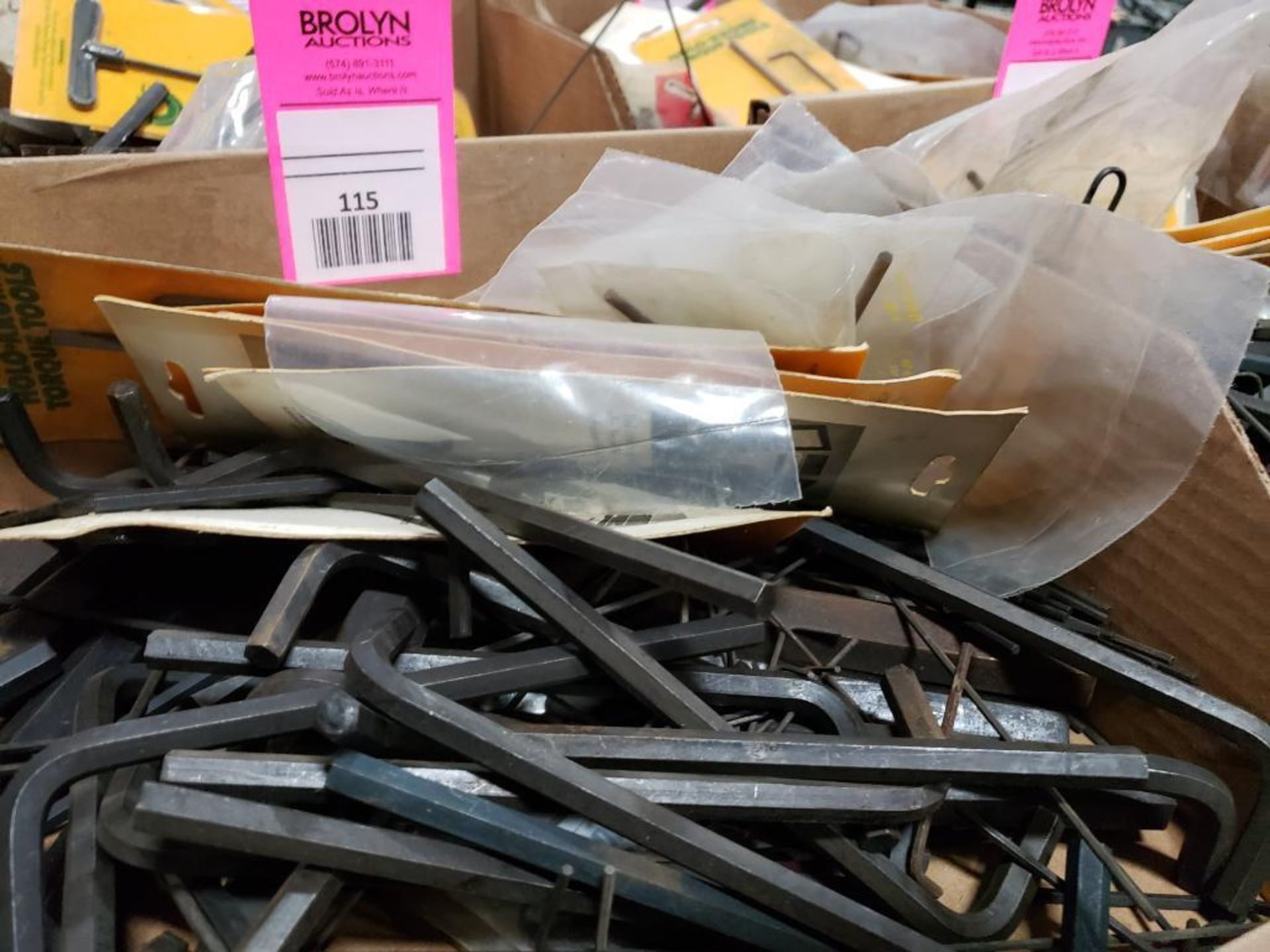 Large Qty of assorted allen wrenches. Holo-Krome and brands. - Image 3 of 4