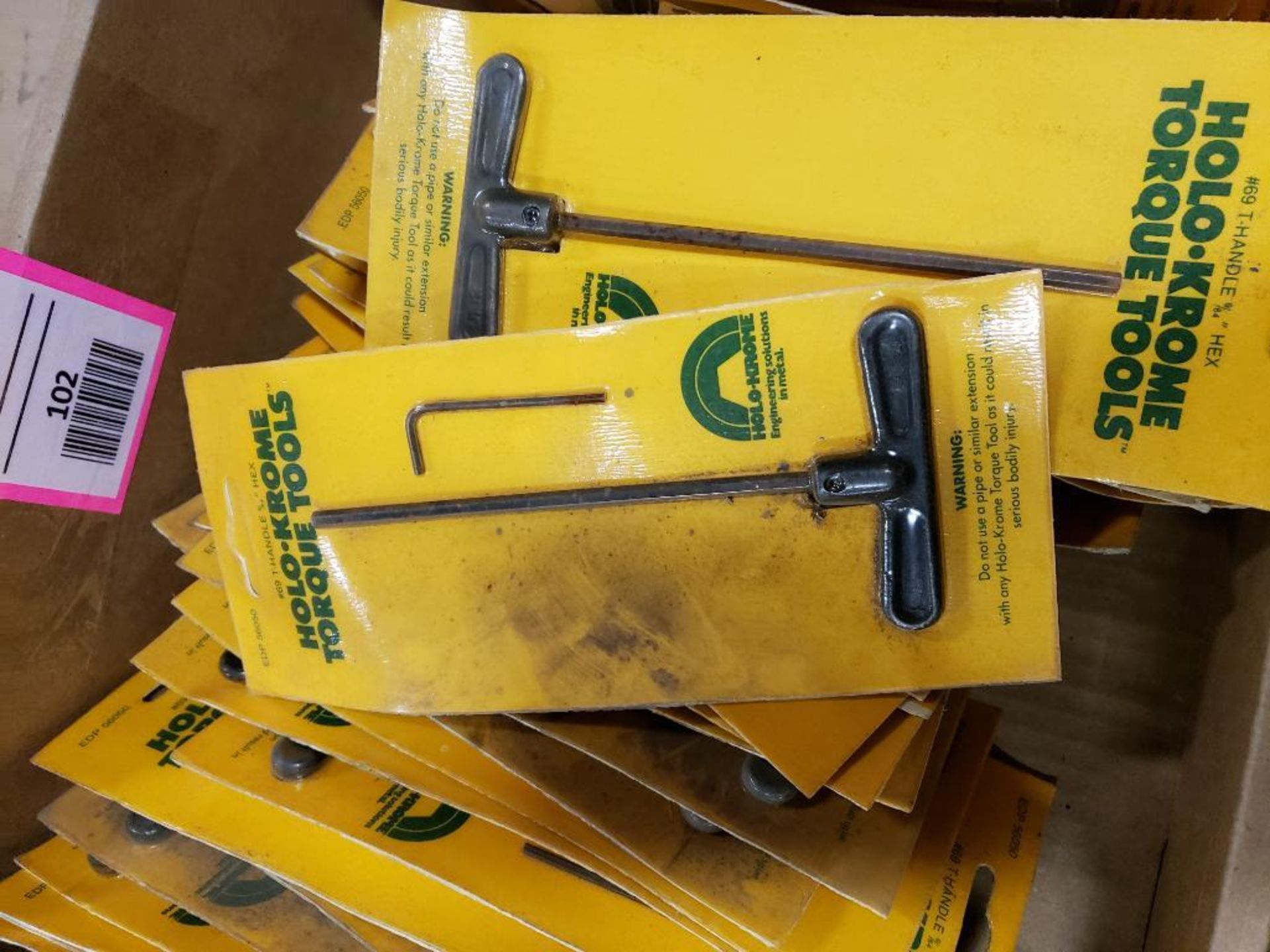 Large Qty of Holo-Krome allen wrenches. New. - Image 4 of 4