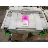 Festool DS-400-EQ sander. With case.