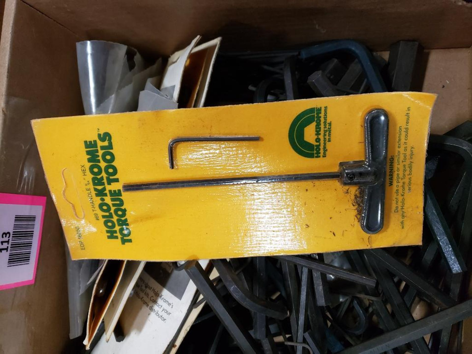 Large Qty of assorted allen wrenches. Holo-Krome and brands. - Image 3 of 3