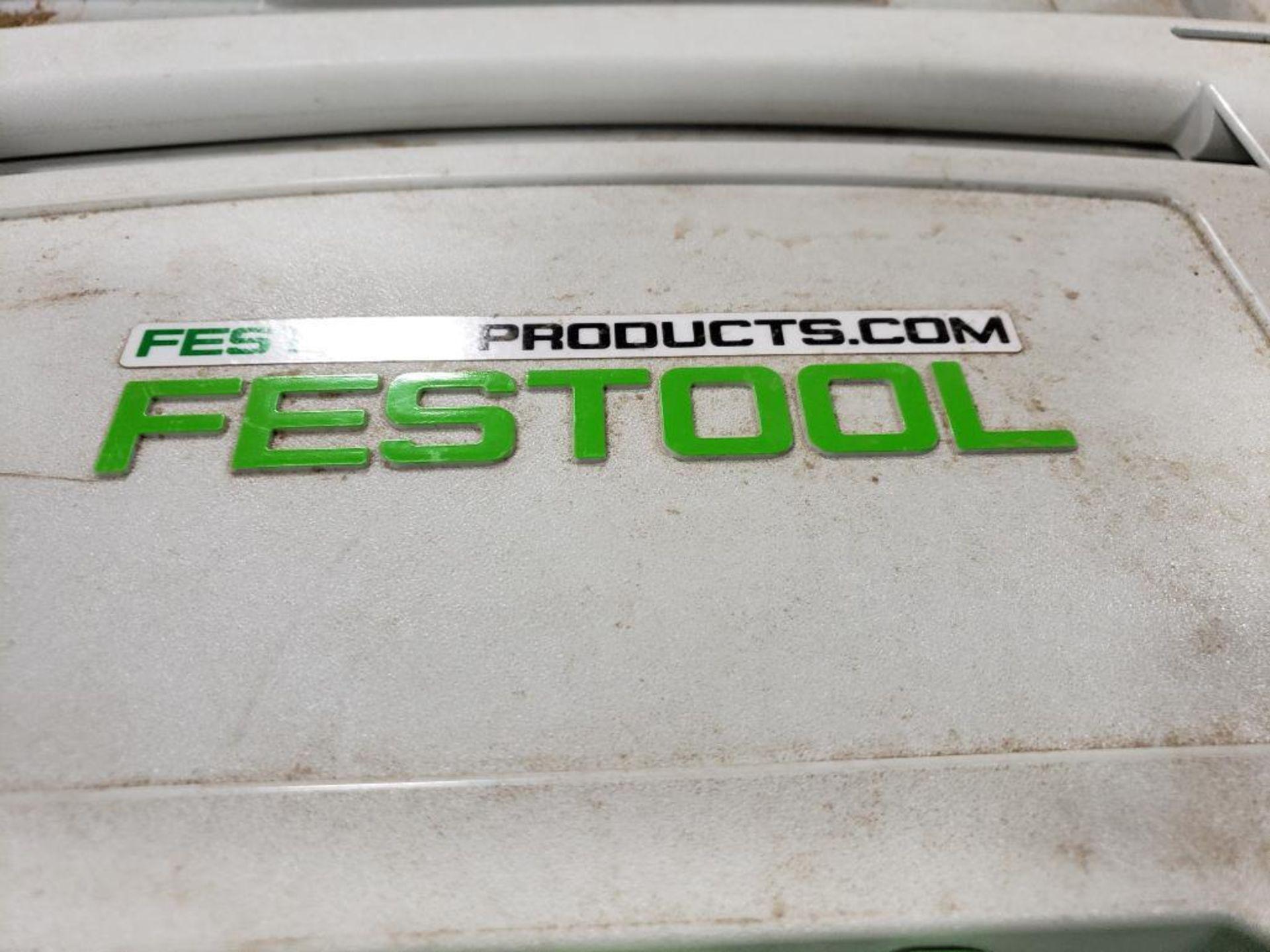 Festool TS75EQ-F-Plus USA Circular saw. 13AMP, 120V. - Image 3 of 7