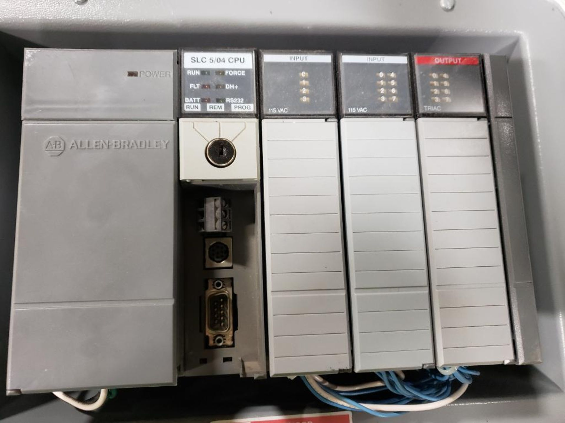 Allen Bradley SLC-500. Personal Computer Interface Converter 1747-PIC. - Image 3 of 6